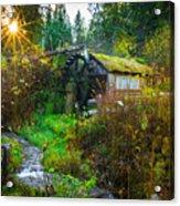 Dalby Waterwheel Acrylic Print