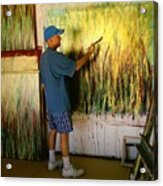 Dale Painting Acrylic Print