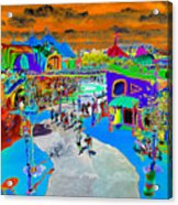 Dali Land Acrylic Print