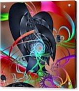 Dali-scape Acrylic Print