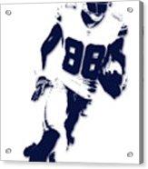 Dallas Cowboys Dez Bryant Acrylic Print