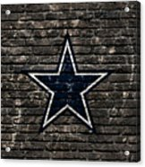 Dallas Cowboys Nfl Football Acrylic Print