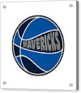 Dallas Mavericks Retro Shirt Acrylic Print