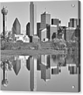 Dallas Monochrome Acrylic Print