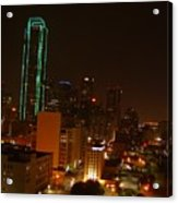 Dallas Night Moves Acrylic Print