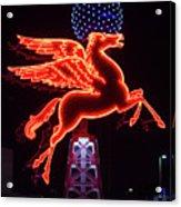 Dallas Pegasus V1 121417 Acrylic Print