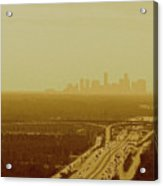Dallas Sky Acrylic Print