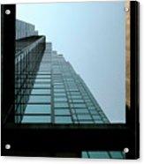 Dallas Skyscraper Patterns  Acrylic Print