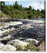 Dalles Rapids French River II Acrylic Print