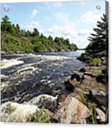 Dalles Rapids French River Iv Acrylic Print