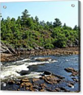 Dalles Rapids French River Ontario Acrylic Print
