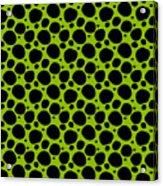 Dalmatian  Black Pattern 09-p0173 Acrylic Print