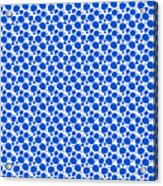 Dalmatian Pattern With A White Background 18-p0173 Acrylic Print