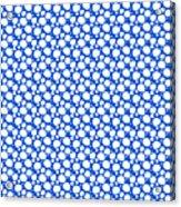 Dalmatian  White Pattern 18-p0173 Acrylic Print