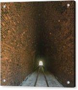 Dalveen Railway Tunnel 1880 Acrylic Print