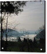 Damascus Fog Acrylic Print