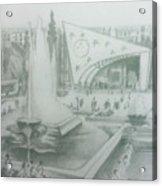 Damascus Acrylic Print