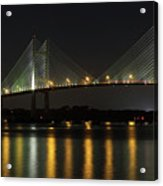 Dames Point Bridge Acrylic Print