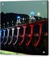 Damm River Bridge Acrylic Print