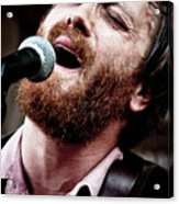 Dan Auerbach And The Fast Five Performs At The Mean Eyed Cat Dur Acrylic Print