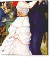 Dance At Bougival 1883 Acrylic Print