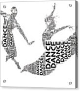 Dance Beauty Acrylic Print