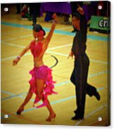 Dance Contest Nr 06 Acrylic Print