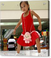 Dance Girl Dance 2 Acrylic Print