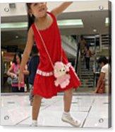 Dance Girl Dance Acrylic Print