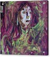 Dance Hall Girl Acrylic Print