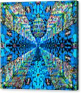 Dance Hall Mirrors No. 2 Acrylic Print