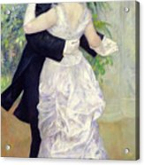 Dance In The City Acrylic Print by Pierre Auguste Renoir