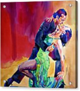 Dance Intense Acrylic Print
