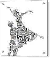 Dance Lift Acrylic Print