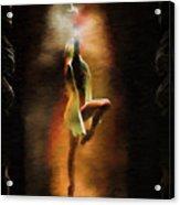 Dance Macabre Acrylic Print