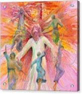 Dance of Freedom Acrylic Print
