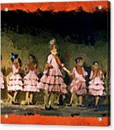 Dance Of La Ninos Acrylic Print
