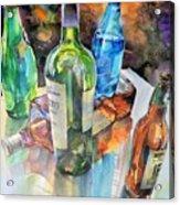 Dance Of Light And Glass Acrylic Print