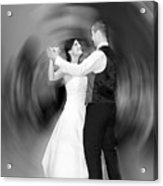 Dance Of Love Acrylic Print by Daniel Csoka