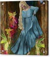 Dance Of The Fairies Acrylic Print by Sydne Archambault