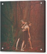 Dance Of The Mother And The Maiden Acrylic Print