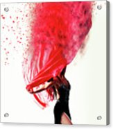 Dance Of The Viel Acrylic Print