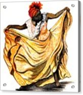 Dance The Belair Acrylic Print