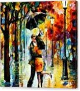 Dance Under The Rain Acrylic Print