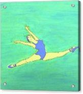 Soaring Dancer By Ken Tesoriere Acrylic Print