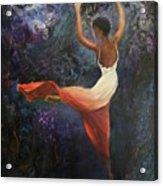 Dancer A Acrylic Print