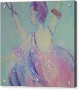 Dancer At The Follies Acrylic Print