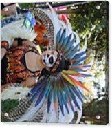Dancer Day Of The Dead II Acrylic Print