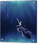 Dancer In The Water  Acrylic Print