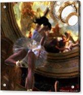Dancer Acrylic Print by Monroe Snook
